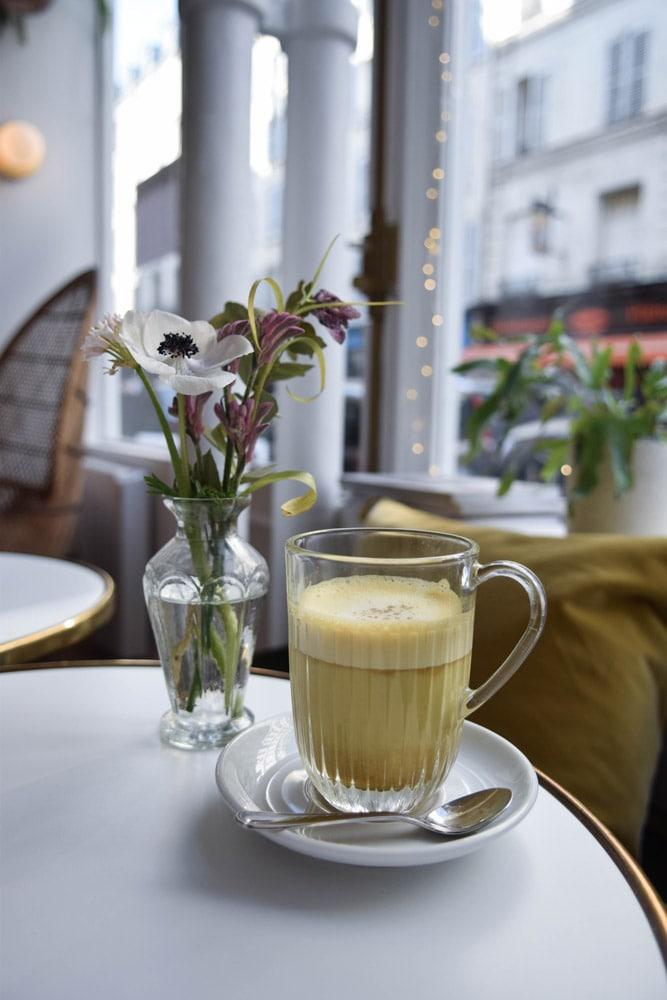 fougère cafe golden latte