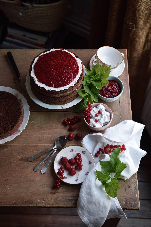 fanny naked cake sans gluten et vegan au chocolat