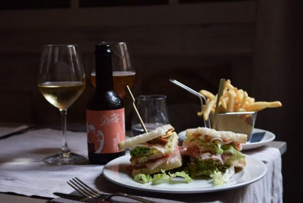 via dalla spiga club sandwich sans gluten