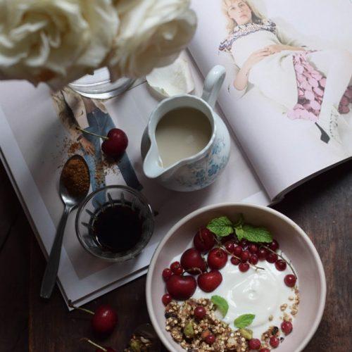 les fruits détendus granola cru sans gluten vegan