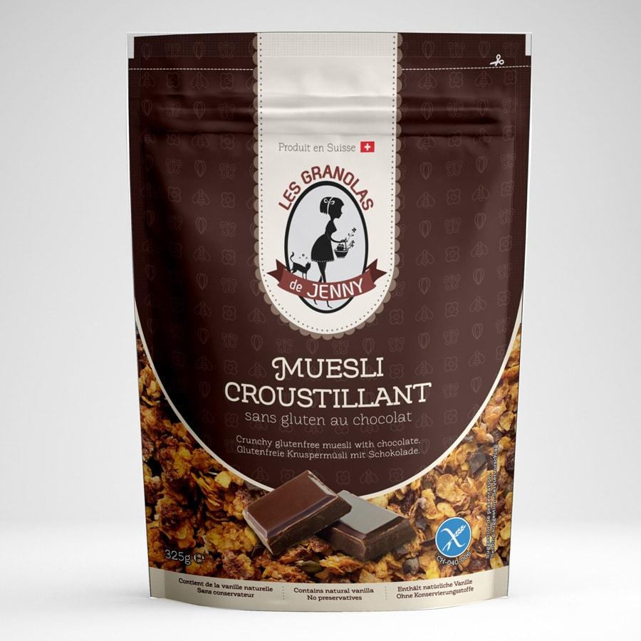granola sans gluten aux pepites de chocolat