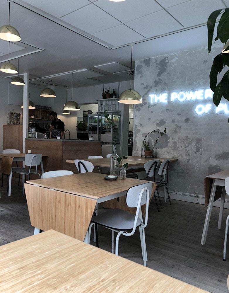 plant power food restaurant vegan