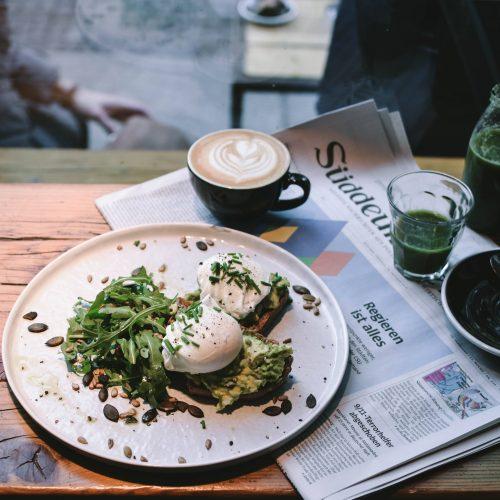kafeebar avocado toast sans gluten