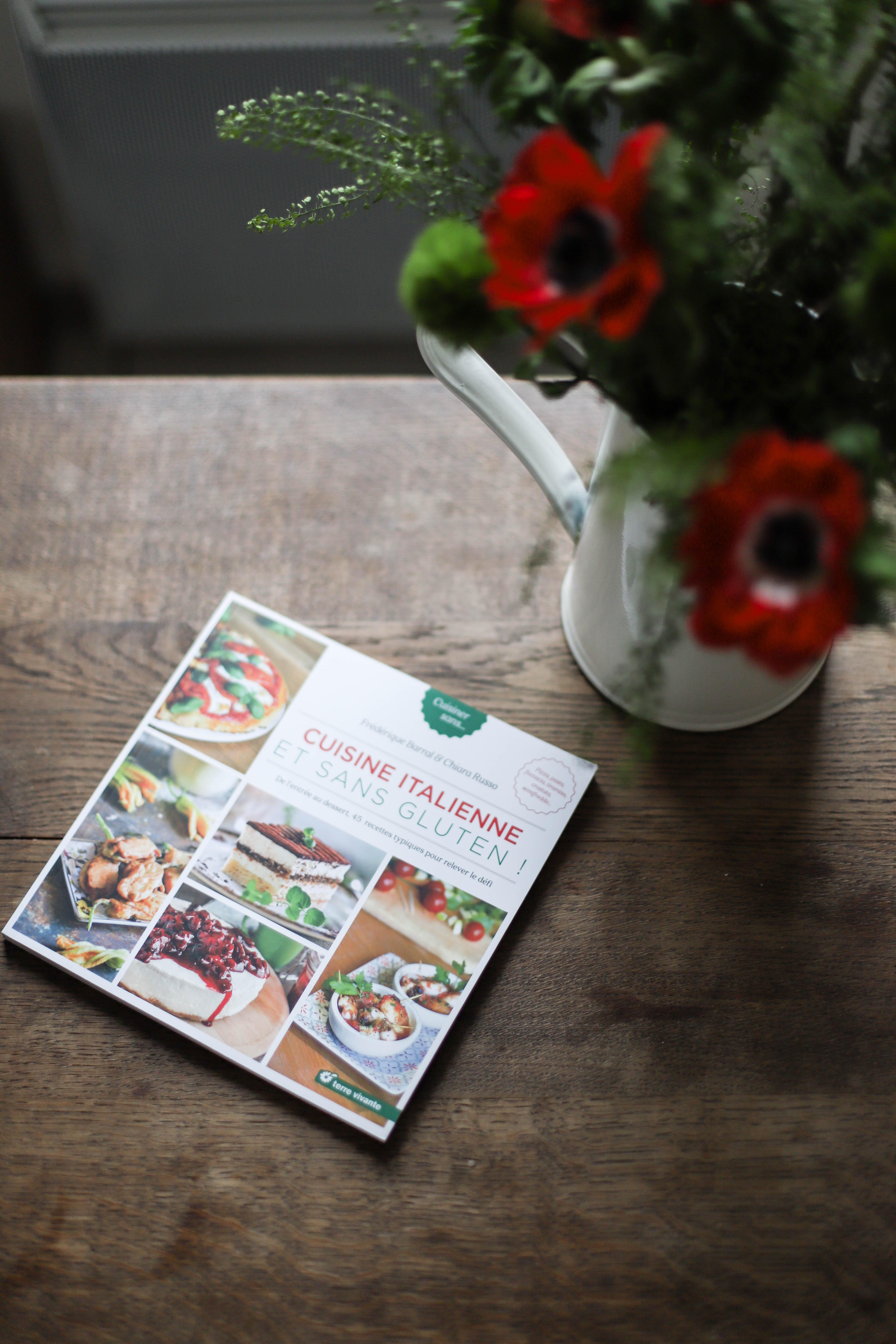 cuisine italienne livre de recettes sans gluten