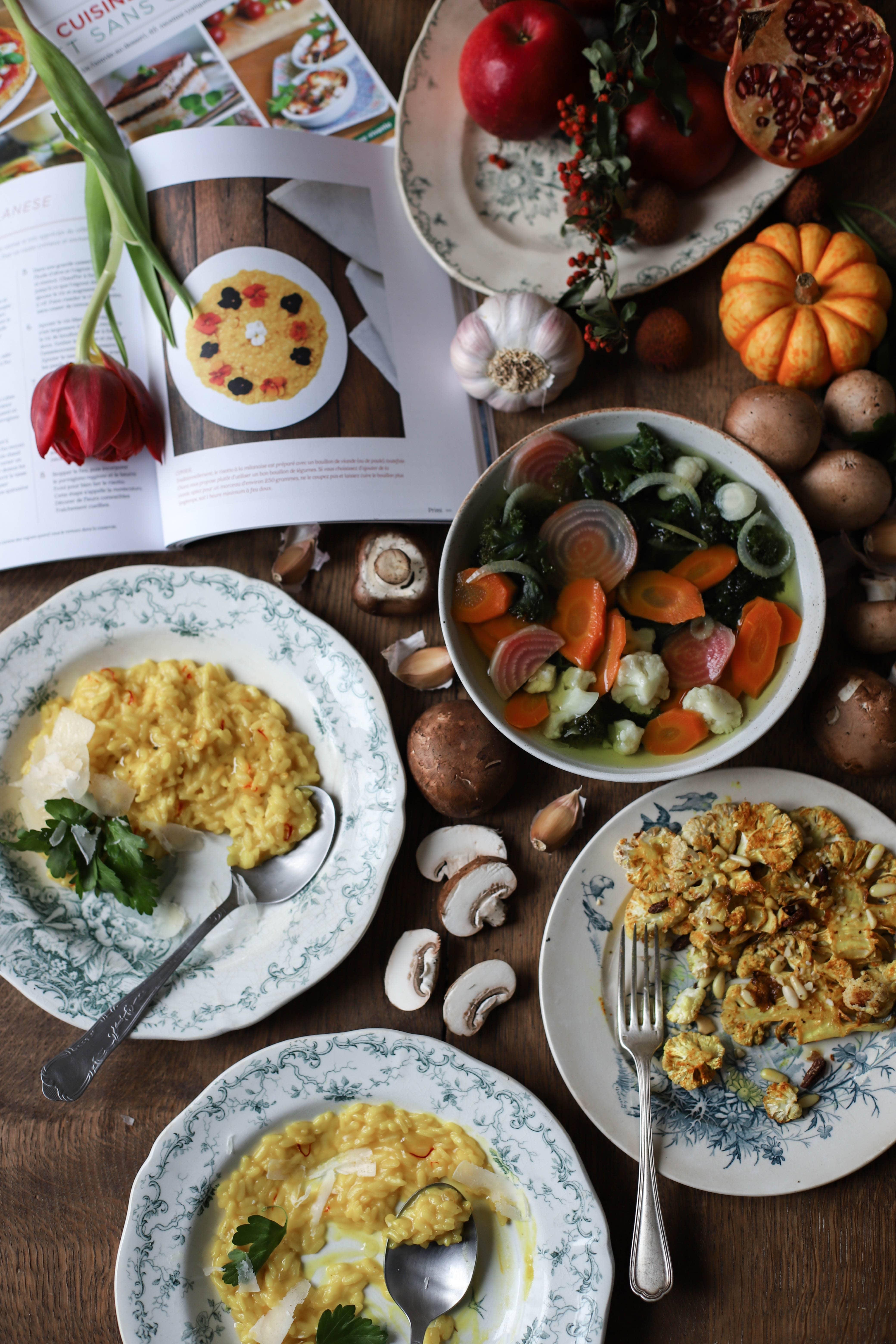 cuisine italienne terre vivante risotto au safran sans gluten
