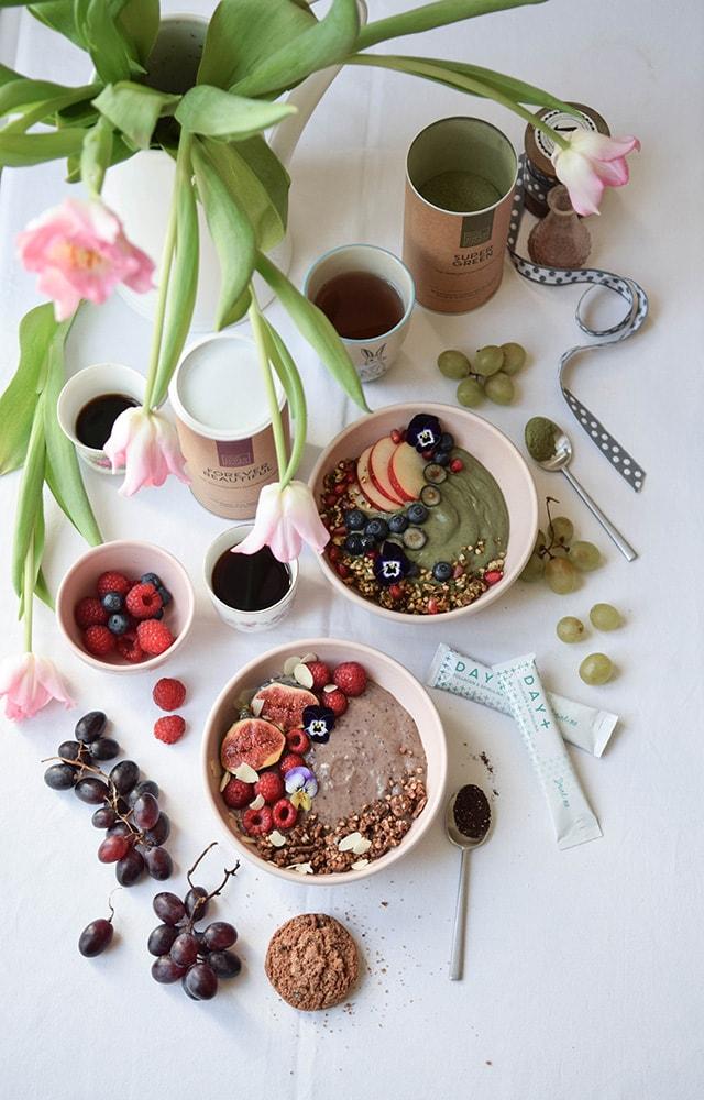your super food green bowl sans gluten