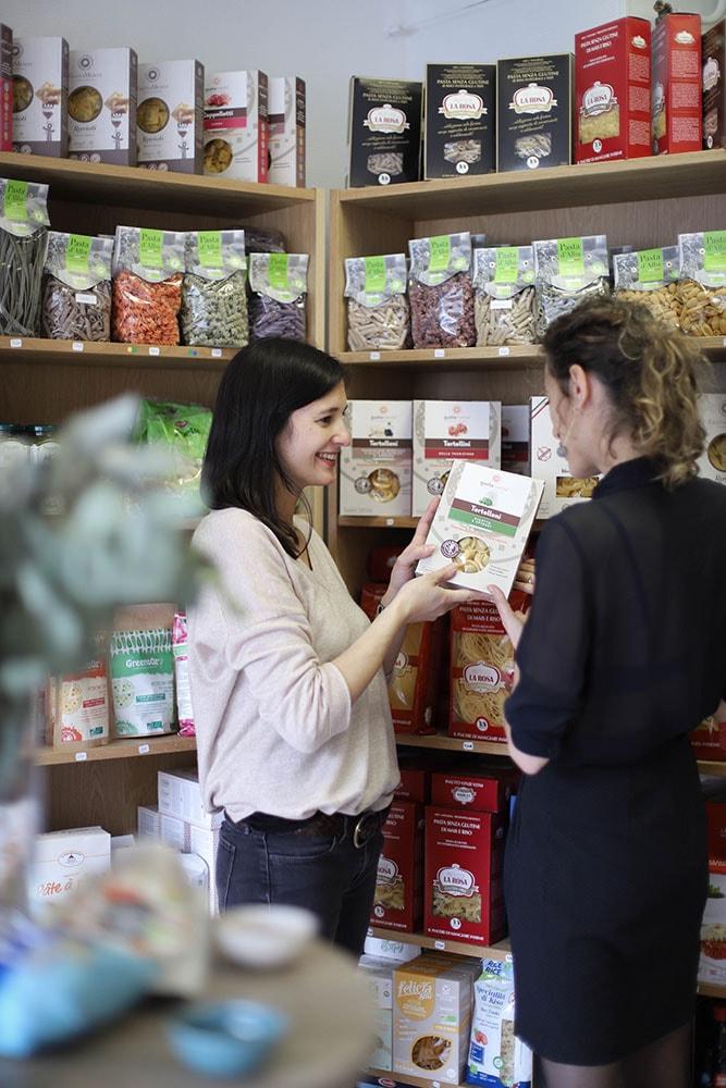 madame gaspard boutique à paris avec produits sans gluten vegan et bio
