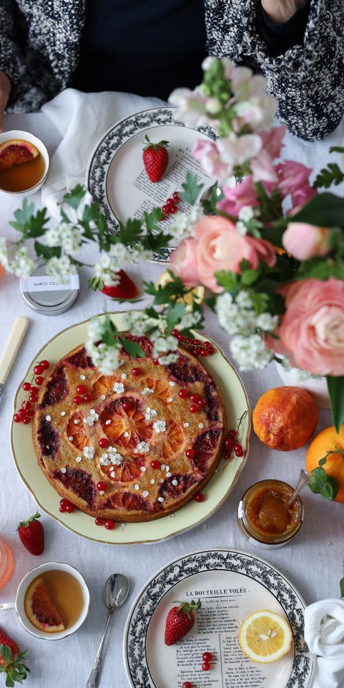 recette gateau aux oranges sanguines